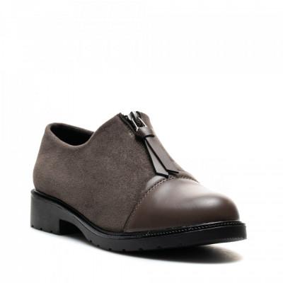Pantofi Cod: W64-43B KHAKI (G04)