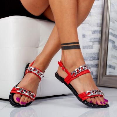 "Sandale ""MireaFashion"" Cod: 8336-20 RED (C 01)"