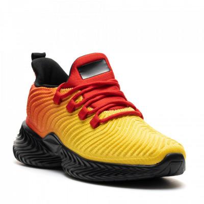 Pantofi Sport Cod: D8305-9 YELLOW/RED (I 02)(E09)