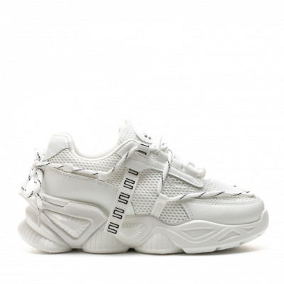 Pantofi Sport Cod: 8802-3 WHITE (i 01 - I 04)