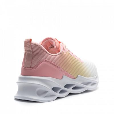 Pantofi Sport Cod: D0567-12 WHITE/YELLOW/PINK (D04)