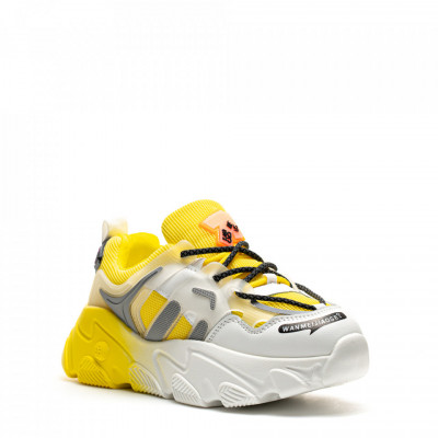 Pantofi Sport Cod: H6 YELLOW (G03)