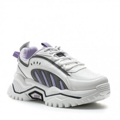 Pantofi Sport Cod: 61-2 WHITE (E02)