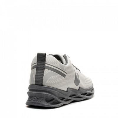 Pantofi Sport Cod: HQ-096-037 WHITE/GREY (I 03)