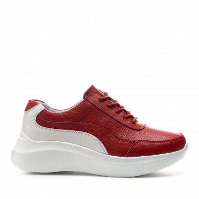 Pantofi Sport Cod: XH-2029 RED/WHITE (F01)