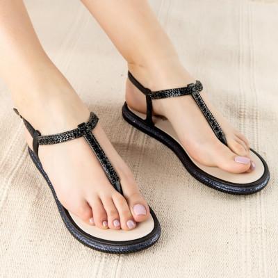 "Sandale ""MireaFashion"" Cod: WS125 BLACK (Q02)"