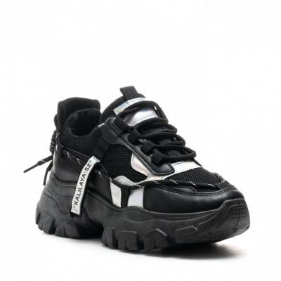 Pantofi Sport Cod: BK12 BLACK (G02)