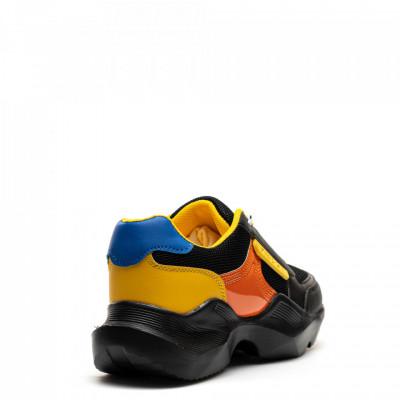 Pantofi Sport Cod: HQ-M1 BLACK/YELLOW (G04)