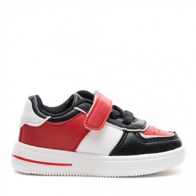 Pantofi Sport Cod: KJ07 BLACK/RED (J02)
