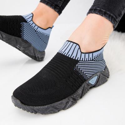 "Pantofi sport ""MireaFashion"" Cod: HQ-209-272 W.BLUE (E05)"