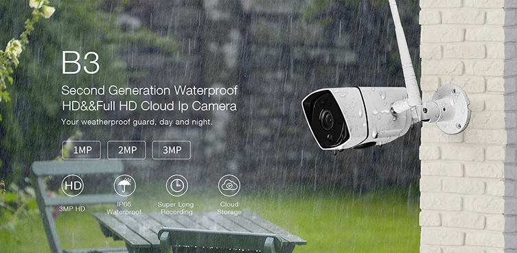VIMTAG B3 outdoor camera