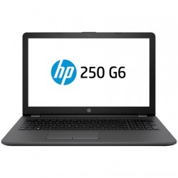 "Laptop HP 250 G6, 15.6"" HD SVA, Intel Core i3-7020U, 4GB DDR4, 500GB HDD, Win10Pro"