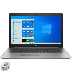 "Laptop HP ProBook 470 G7, 17.3"" FHD, Intel Core i7-10510U, 16 GB, 256GB SSD, AMD Radeon 530 2GB, Win10Pro, Silver"