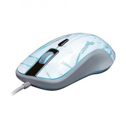 Mouse Gaming Aula Hunting, Alb