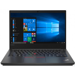 "Laptop Lenovo ThinkPad E14, 14"" FHD IPS, Intel Core i7-10510U, 16GB, 512GB SSD, Win10Pro, black"
