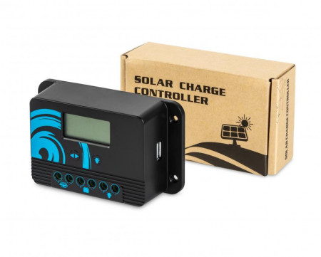 Regulator solar pwm 10a cu suport pt baterii litium