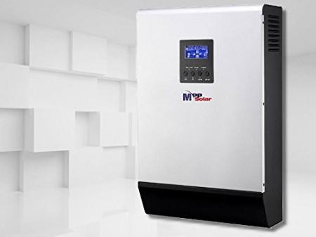 Invertor Hibrid MppSolar PV Input 145v 5kw 48v cu controler mppt 80a