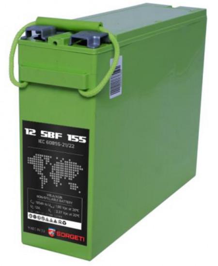 Baterie Sorgeti SBF cu borne frontale 155ah 12v