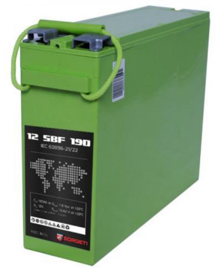 Baterie Sorgeti SBF cu borne frontale 190ah 12v