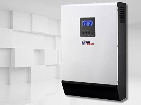 Invertor Hibrid MppSolar PV Input 145v 3kw 24v cu controler mppt 60a