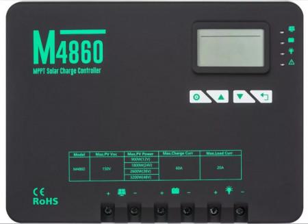 Regulator Mppt 60a 12/24/36/48v - 150V