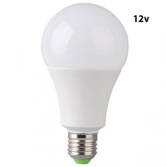Bec LED E27 7W Glob Mat Plastic 12V