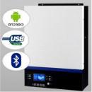 Invertor Hibrid MppSolar 3kw Cu Regulator Solar MPPT 80A, PV Input 450V