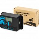 Regulator solar pwm 20a cu suport pt baterii litium
