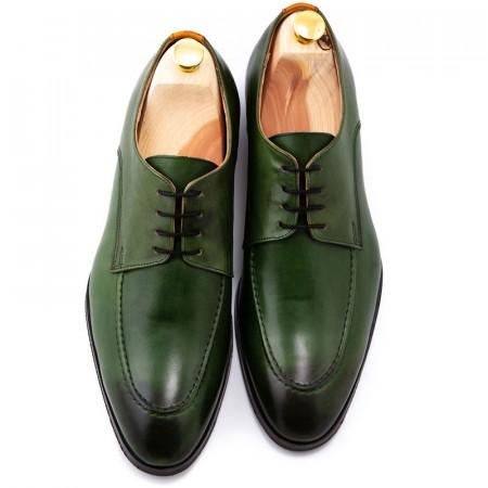 Pantofi barbatesti smart-casual verzi