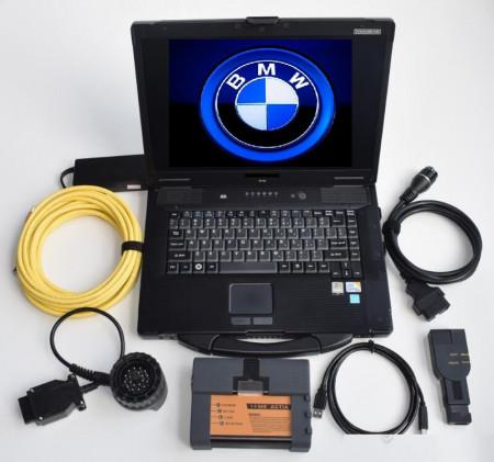 Testere Auto Profesionale > Kit Tester profesional dedicat BMW / MINI / MASERATI, laptop full software
