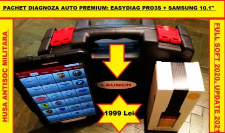 Testere Multimarca > Kit Tester Auto Launch X431 Easydiag Pro3S + Tableta Samsung Full Activat
