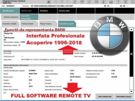 Testere Auto Unimarca > Interfata dedicata gama Bmw, Ista D, Ista P activate Full