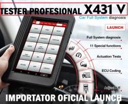 Tester auto Profesional Launch X431 V 8 inch PRO3 KIT Diagnoza Original, update 24 luni Gratuit