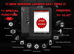 Testere Multimarca > Tester Original Launch X431 V+ Profesional PRO4 versiune Globala
