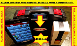 Testere Multimarca > Kit Tester Auto Launch X431 Easydiag Pro3S + Tableta Samsung Full Activat
