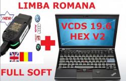 Testere Auto Profesionale Kit Vag Com + Laptop > Gama Vw / Audi / Skoda / Seat, totul este instalat
