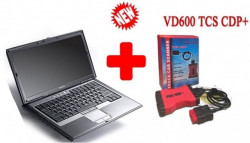 Testere Multimarca > Kit Interfata profesionala KTS600 TCS+ V2018 3IN1, laptop inclus full activat turisme si camioane