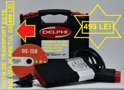 Testere Multimarca > Interfata semiprofesionala DELFI2 DS150E VCII Turisme&Autoutilitare&Camione Arm Cip, Bluetooth inclus, fabricatie 2020