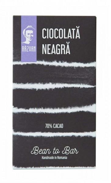 PRAVALIA IDICEL - RAZVAN Ciocolata neagra 70% - 70gr