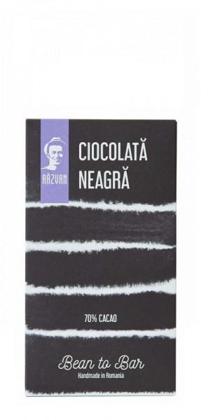 PRAVALIA IDICEL - RAZVAN Ciocolata neagra 70% mini - 30gr