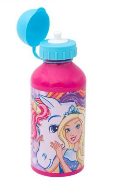 Bidon apa din aluminiu BARBIE Unicorn 500 ml