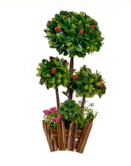 """<img src=""""bonsai2.png"""" alt=""""GHIVECI DECORATIV CU 3 FLORI BONSAI, 26x16 CM"""">"""