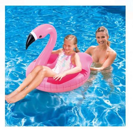 Colac in forma de flamingo 98x79x75 cm