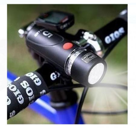 Lanternă pentru biciclete cu 5 LED-uri
