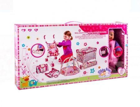 Set pentru bebelusi cu accesorii, 75x11x40 cm