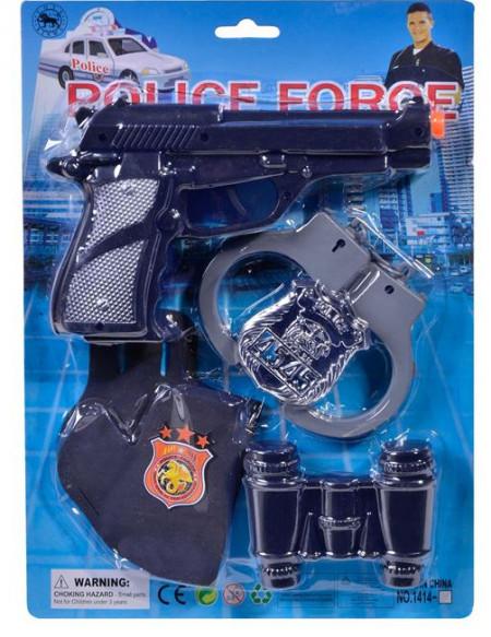 Set polițist și accesorii - 5 buc.