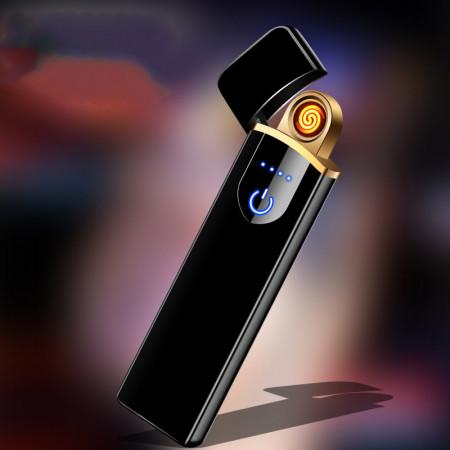 Bricheta electrica, incarcare USB, antivant, senzor aprindere touch