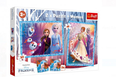 Puzzle 4 in 1 + carduri