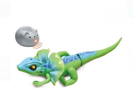 Joc cu telecomandă șopârlă cu mișcare și lumină