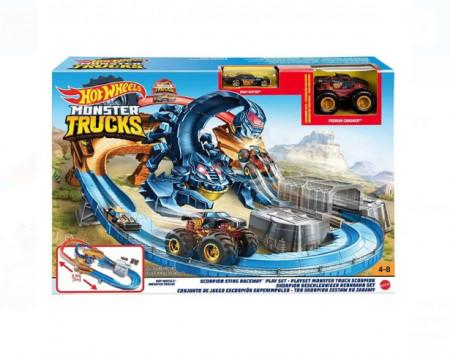 Set de joaca Hot Wheels Monster Trucks - Invinge scorpionul